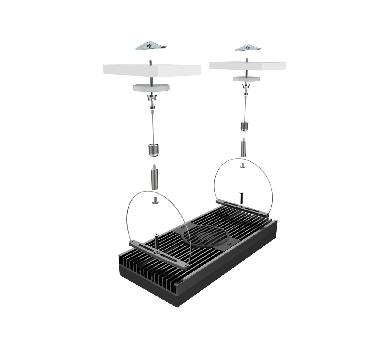 Picture of Aqua Illumination EXT Hydra Hanging Kit Silver 'OUT OF STOCK'