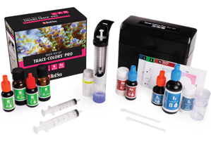 Picture of Reef Colours Pro Multi Test Kit. Red Sea (I2,K,FE)