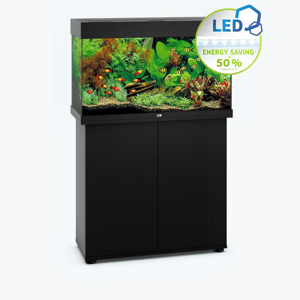 Picture of Juwel Rio 125 LED model with SBX Cabinet BLACK
