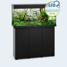 Picture of Juwel Rio 180 LED model with SBX Cabinet BLACK