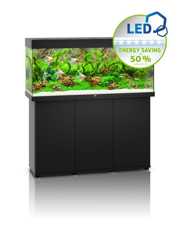 Picture of Juwel Rio 240 LED model with SBX Cabinet BLACK