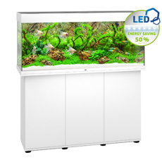 Picture of Juwel Rio 240 LED model with SBX Cabinet WHITE