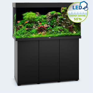 Picture of Juwel Rio 350 LED model with SBX Cabinet BLACK