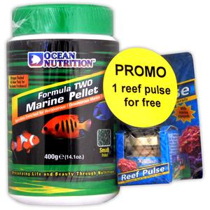 Picture of PROMO Ocean Nutrition Formula Two Marine Pellets Small 400 grams